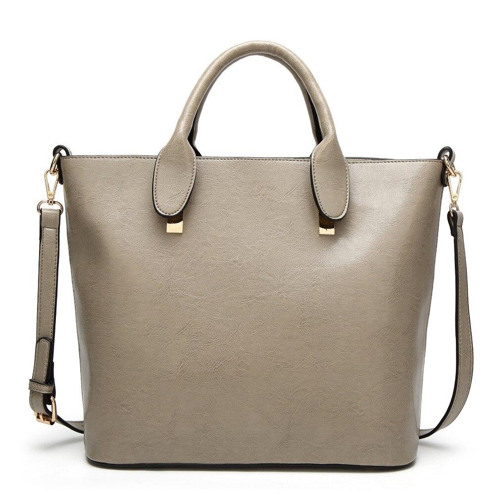 JOFEANAY Brand 2017 new lady fashion high-quality hardware retro handbag shoulder Messenger bag large bag leather bag Girls bag top quality 2018 new bag lady shoulder bag