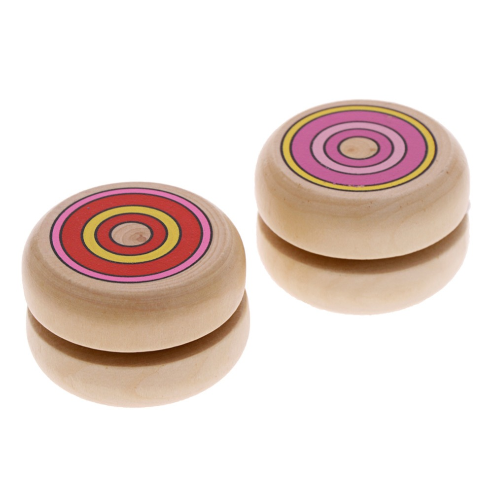 New Arrive 1Pcs Classic Toys Wooden YO-YO Ball Spin Professional Classic Toys Wooden Toys 4.5cm Yo-yo For Child Gift #263087