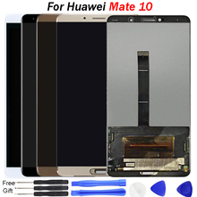 цена на 5.9 inch For Huawei MATE 10 LCD Display Touch Screen mobile phone parts replacement Digitizer Sensor Assembly For Mate10 Display