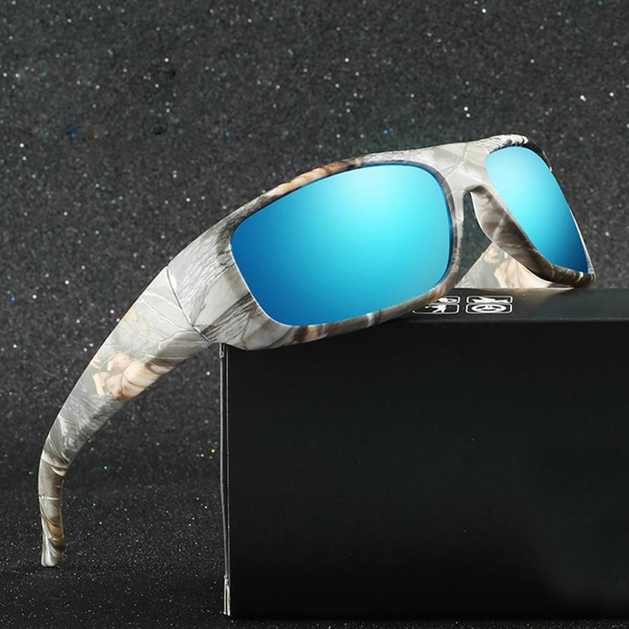 NEWBOLER Polarized Fishing Sunglasses Camouflage Men Women Sport Sun Glasses Camping Fly Fishing Eyewear night vision