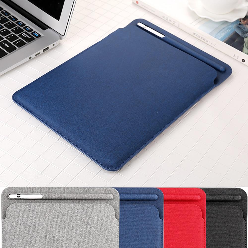 Nouveau linge manches protecteur NOUVEAU Pro 11 A1980 pour iPad. Portefeuille avec fente crayon cas pour ipad Pro 10.5 pour new ipad 9.7