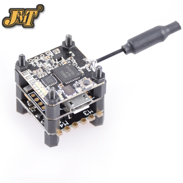 JMT FSD-16 F3V1.0 Mini Tower Racing F3 Flight Controller ESC 1S with 40CH VTX OSD 25mw HD for FPV DIY RC Racer Drone Tricopter emax f3 magnum mini fpv stack tower system flight controller 4in1 esc all in one for micro fpv racing quadcopter drone diy