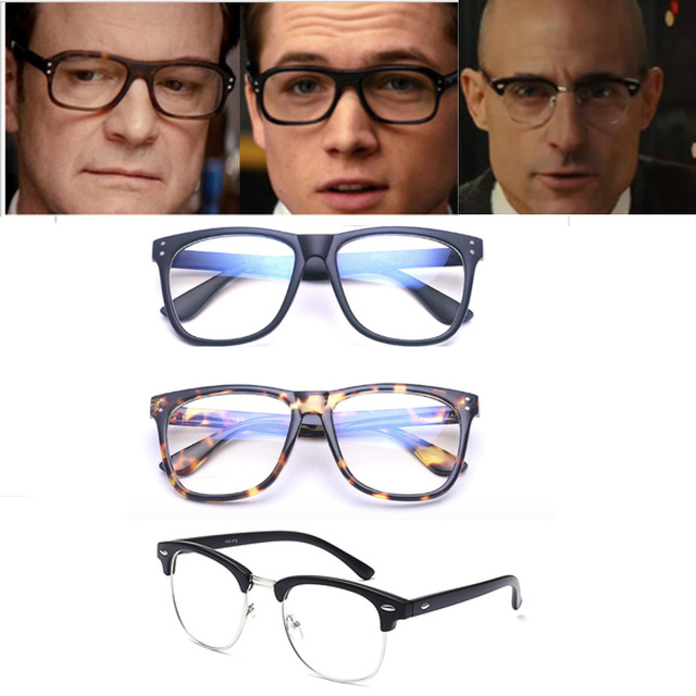 2a85a72070 Movie Kingsman  The Golden Circle Harry Hart Merlin Eggsy Cosplay Eyewear  Glasses Eyeglasses Sunglasses Cosplay