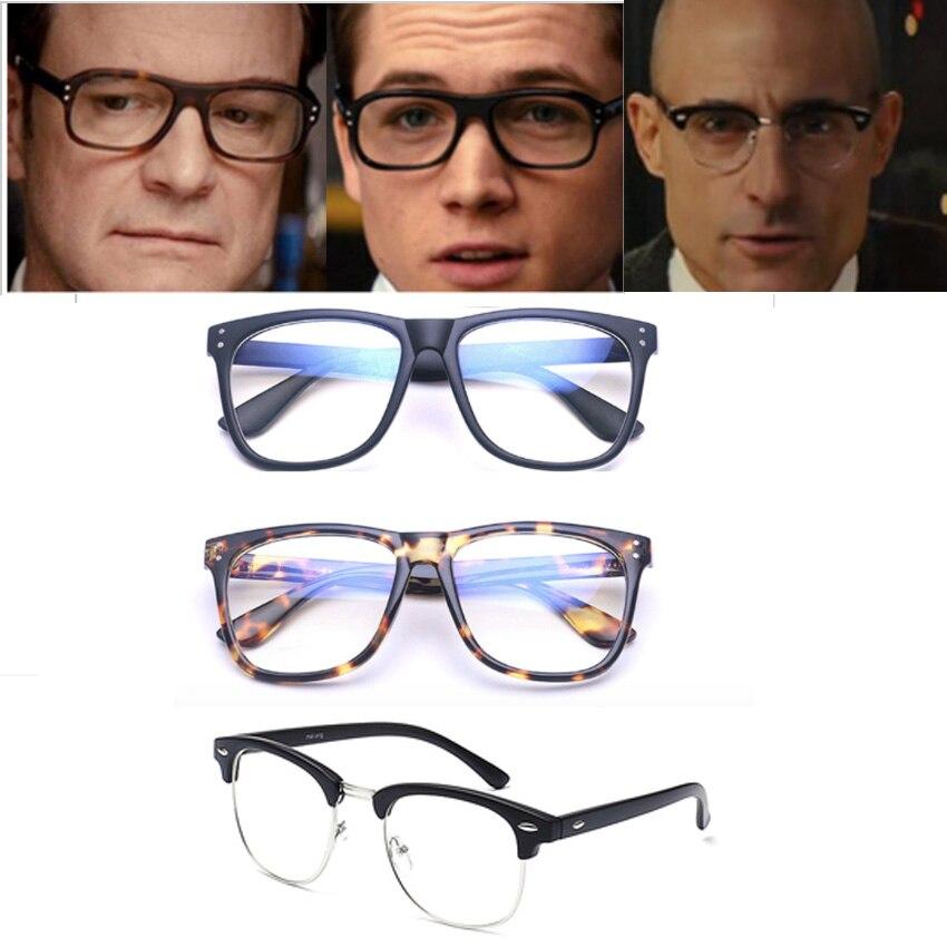 Película Kingsman: el círculo de oro Harry Hart Merlin Eggsy Cosplay Eyewear gafas de sol gafas accesorios Cosplay