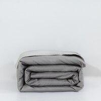 אפור מגניב 1 יחידות 100% כותנה שמיכה מכסה סט שמיכה כיסוי שמיכת סטי תאומים מלא מלכת מצעי גודל לא שמיכה