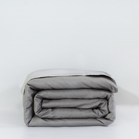 Cool Gray Duvet Covers Comforter Set 1Pcs 100% Cotton Duvet Cover Sets Twin Queen Full Size Bedclothes No Comforter