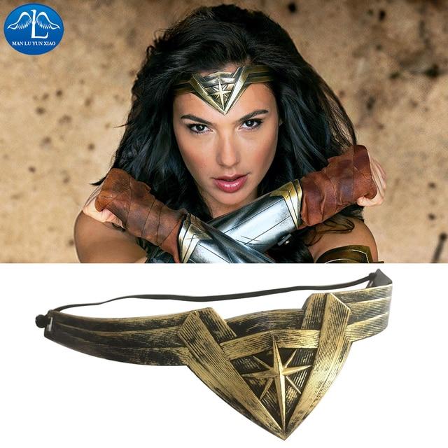 Keajaiban Baru Wanita Ikat Kepala Superhero Supergirl Wonder Woman