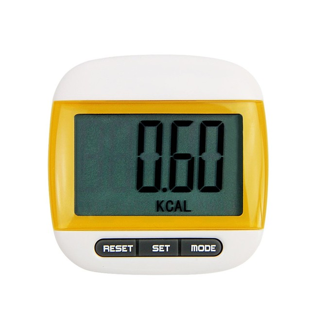 Мини-водонепроницаемый шаг движение счетчик калорий Многофункциональный цифровой ЖК-шагомер для похудения помощи инструмента Прогулка Запуск инструменты