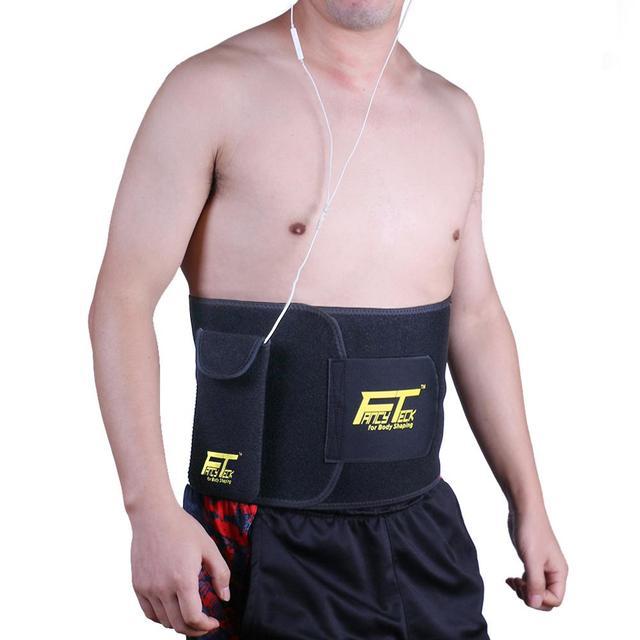 Fancyteck Instrutor Cinto com saco Da Cintura cincher Tummy emagrecimento espartilho barriga firme cinto corset moldar o corpo da perda de peso
