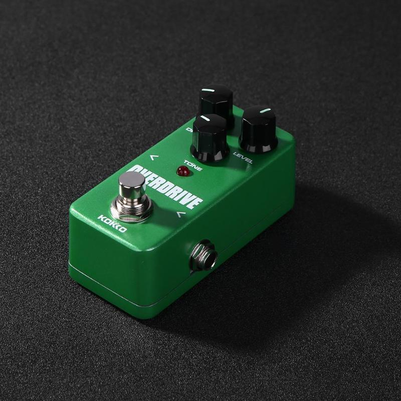 Image 4 - KOKKO Guitar Pedal Effect Compressor Booster Distortion Overdrive Electric Bass Guitar Effects True Bypass Musical Instruments-in Guitar Parts & Accessories from Sports & Entertainment