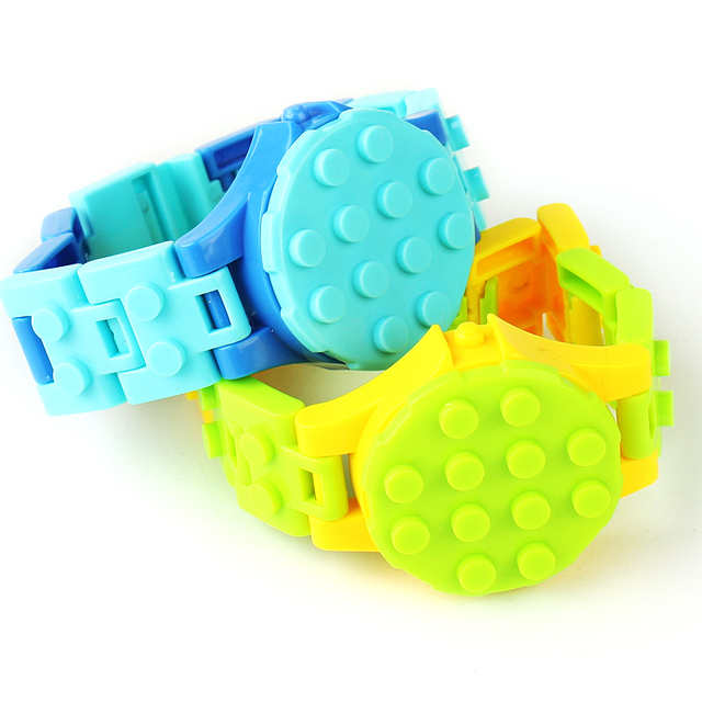 Watch Baseplate building Blocks Compatible with City technic DIY Educational Toys Watches Bricks Base Plate for children