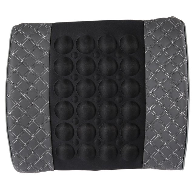 Hot Vibrating Back Massage Cushion Portable with Bump Reasonable Magnetize Design Offers Massage Function with Portable Design