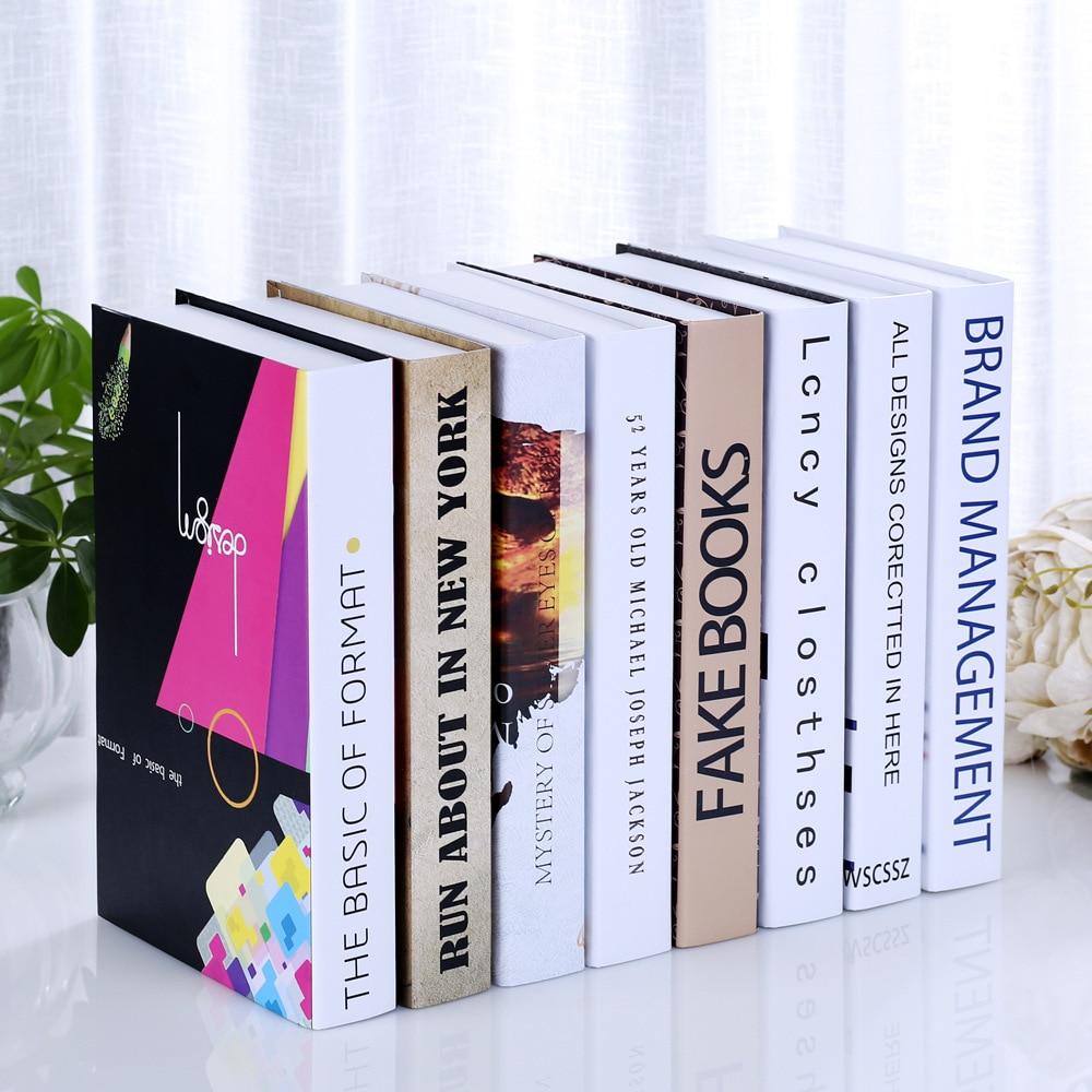 Fabrikanten Verkopen Nep Boek Boek Boekenkast Decor Woonkamer Koffie Bar Simulatie Doos Props Boek Shell Ornamenten Aangenaam In De Nasmaak