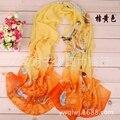 Ladies present New Fashion Winter Scarves Women Brand  Scarfs Designer Cotton shawls Scarf Chiffon scarves wholesale