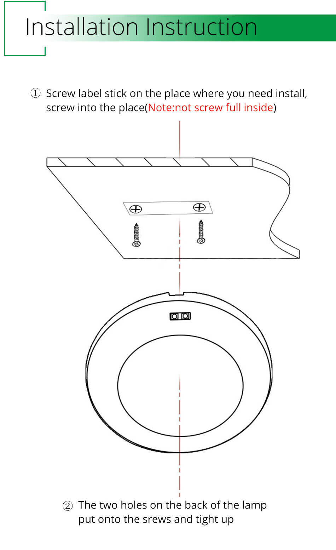 21PCS Under Cabinet Lamps 3W Motion Sensor IR Silver Round LED Puck Counter Led Lights Closet Cupboard Wardrobe Locker Lighting (19)