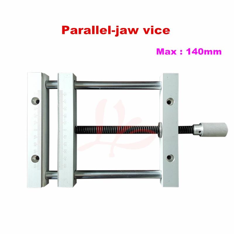 QGG Precision plain vice 140mm for cnc jig for cnc machine milling machine flat tongs precision processing cnc prototyping cnc milling service
