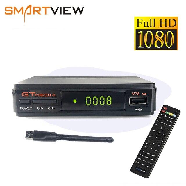 GTMedia V7S HD DVB-S2 receptor DVB S2 Satellite Receiver Full 1080P Support Powervu Biss Key Decoder Set top box