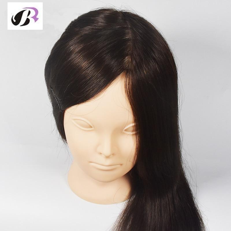 Date 18Inch Femme Mannequins 30% Maquillage de Cheveux Humains - Soin des cheveux et coiffage - Photo 2