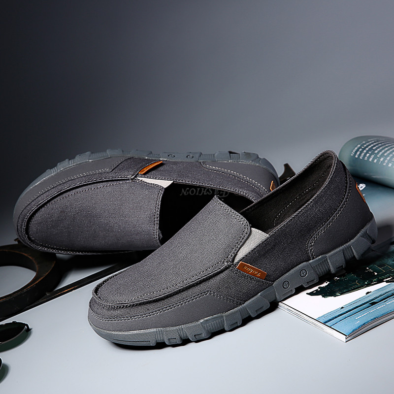 Men Flat Slip on Loafers Gentlemans Casual Shoes Comfortable Blue White Canvas Shoes Good Quality Hombre Eur 40-45 KF601-617 C1Men Flat Slip on Loafers Gentlemans Casual Shoes Comfortable Blue White Canvas Shoes Good Quality Hombre Eur 40-45 KF601-617 C1