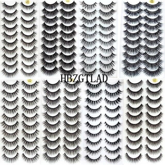 Nieuwe 300 Pairs 3D Zachte Nertsen Haar Valse Wimpers Natuurlijke Lange Wimpers Criss Cross Piekerige Pluizige Wimpers Extension Eye makeup Tools