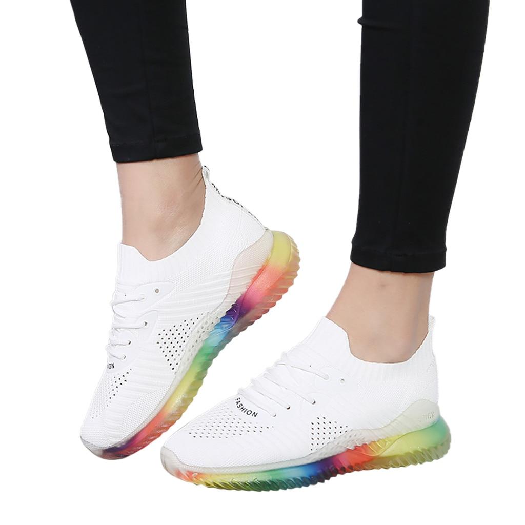 CHAMSGEND Women's Trend rainbow jelly