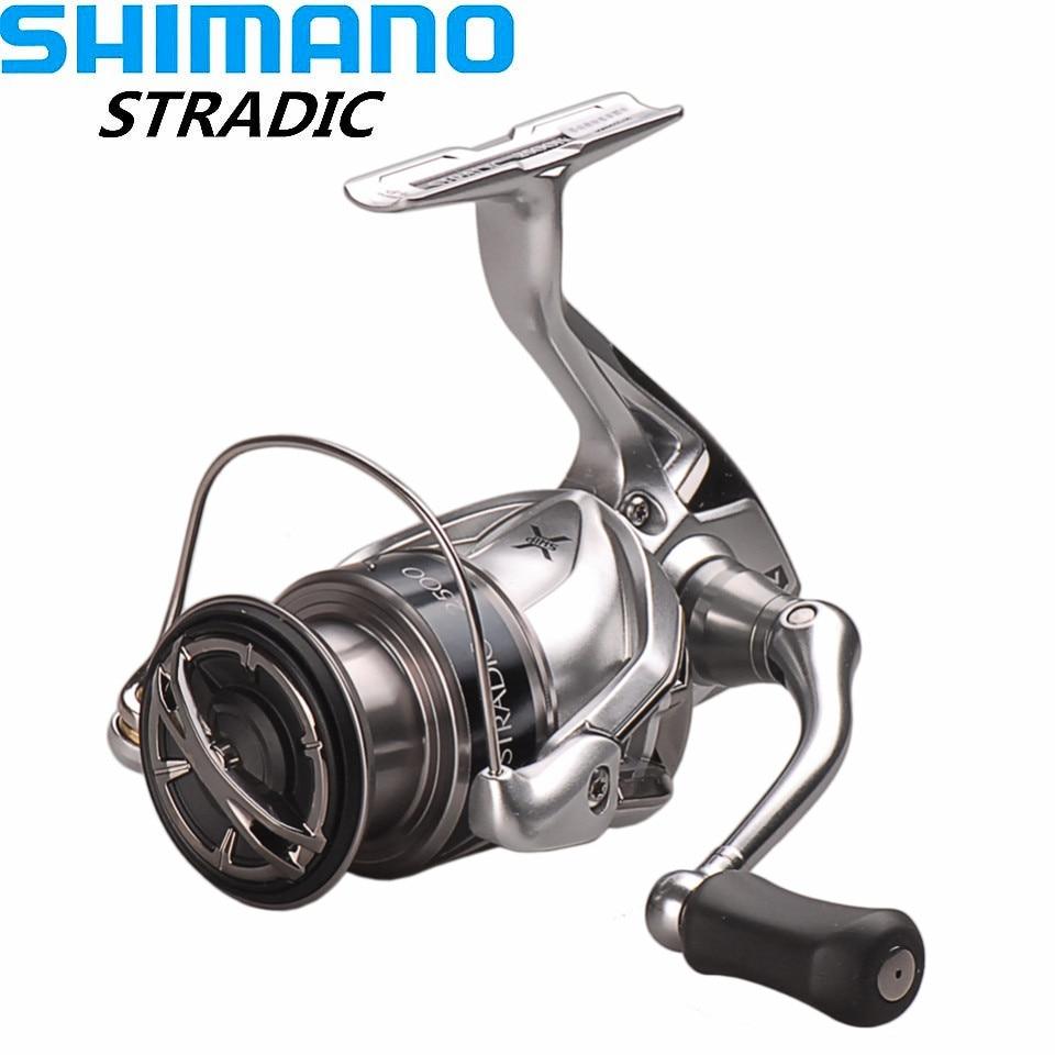 Shimano Spinning Fishing Reel STRADIC FK2500HG C3000HG 4000XG C5000XG 6 0 1 6 2 1 Carretilha