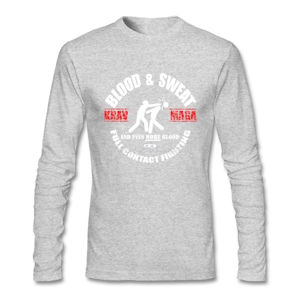 Israël Krav Maga T Shirt Coton Personnalisé À Manches Longues Marque  vêtements Nouveau Style Pas Cher ... 3106323293ce