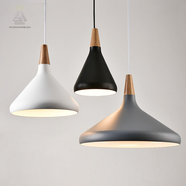 Nordic contracted decor pendant lights suspension for Suspension luminaire filaire