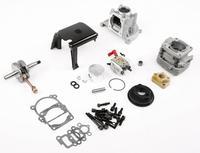 BAJA Losi Двигатели для автомобиля 23cc 26cc 29cc 30.5cc до 36cc Conversion Kit Walbro w1107 крышка сцепления коленчатого вала поршень цилиндра маховик