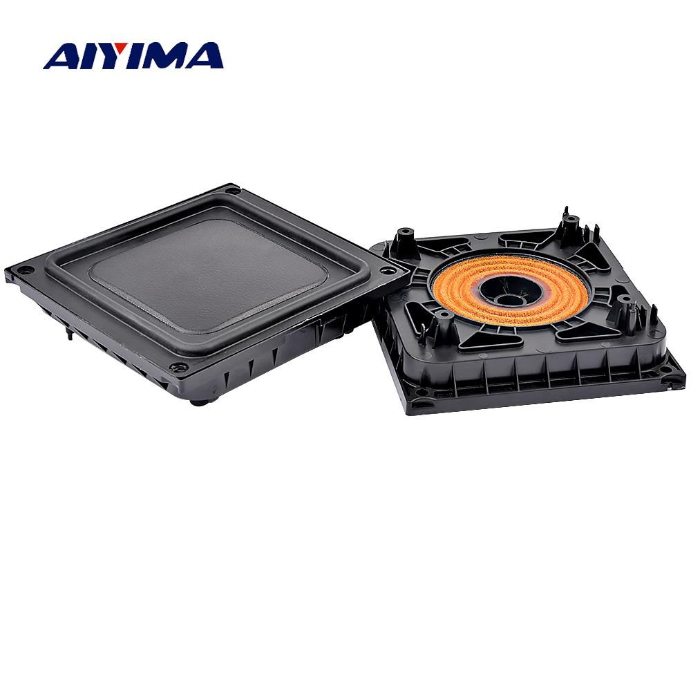 AIYIMA 2PCS Bass Radiator Passive Radiator Speaker Rubber Diaphragm Vbration Plate 100*92MM For Pill XL Bluetooth Speaker DIY