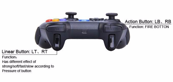 Tronsmart Mars G01 2.4GHz Wireless Gamepad for PlayStation 3 PS3 Game Controller Joystick for Android TV Box Windows (18)-3