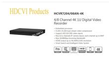 DAHUA CCTV DVR 4/8 Channel 4K 1U Security Digital Video Recorder Without Logo HCVR7204AN-4K/HCVR7208AN-4K