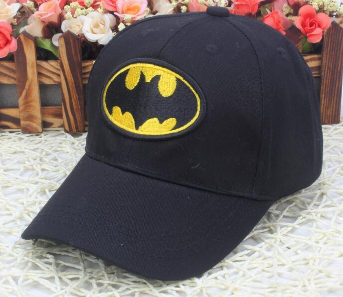 1pcs popular cartoon avengers batman kids girl boys lovely Fashion Sun Hat Casual Cosplay   Baseball     Cap   children party gifts