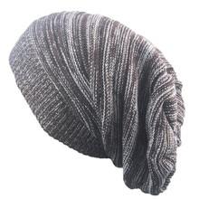 Men Women hat Knit Oversized thin slouchy Slouchy long Beanies Warm Winter Ski Hat Caps hip hop Skull Girls sombrero de