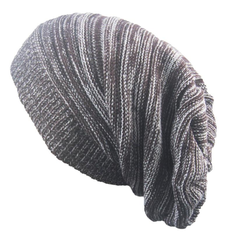 Men Women hat Knit Oversized thin slouchy Slouchy long   Beanies   hat Warm Winter Ski Hat Caps hip hop Skull Girls sombrero de