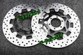 Delantera de la motocicleta de discos de freno para FZ 750 89-91 / TDM850 91-03 91-01 / TRX 850 96-99 Universel