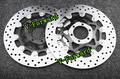 Motorcycle Front Brake Disc Rotors For FZ 750 89-91/TDM850 91-01/TRX  850 96-99  Universel