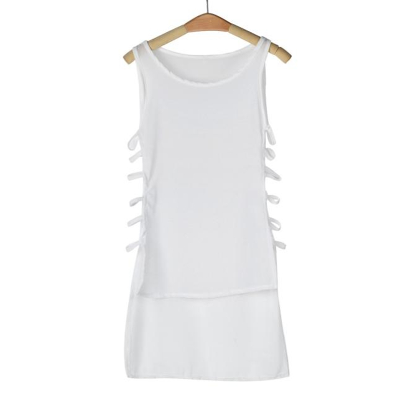 HTB1Eb4zN6DpK1RjSZFrq6y78VXa8 MIARHB Womens Summer Sleeveless Dress Sexy Casual Chiffon Vest Top Sleeveless Blouse Tank Tops Mini Dress Dresses T-Shirt A20