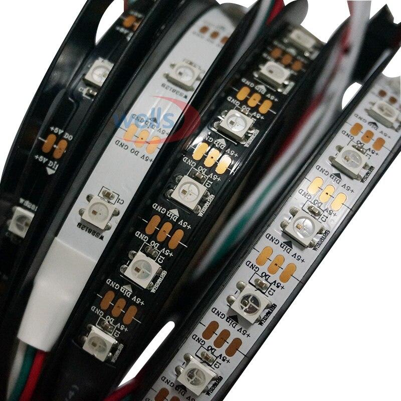 DC5V 1м / 3м / 4м / 5м WS2812Белсенді пиксель - LED Жарықтандыру - фото 3