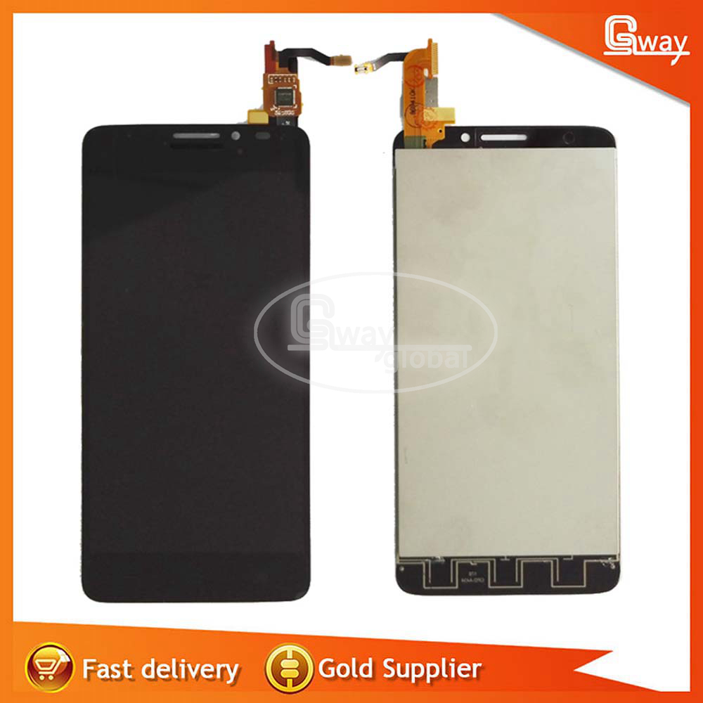 imágenes para 100% probado para alcatel one touch idolx 6040x 6040e 6040a 6040d ot6040 6040 pantalla lcd con pantalla táctil digitalizador asamblea