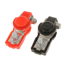 1 Pair Car Battery Terminal Connector Quick Release Terminals Clamps Clips For Truck Caravan Etc 75*30mm