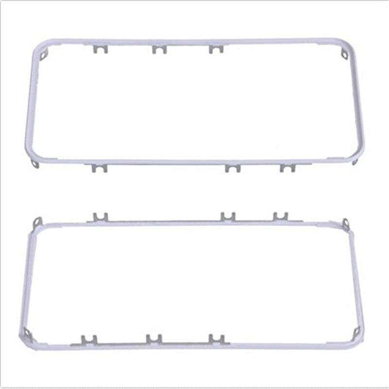 Bezel-Bracket-Holder Frame iPhone 4 Not-3m-Sticker LCD White Black OEM for 4G 4S