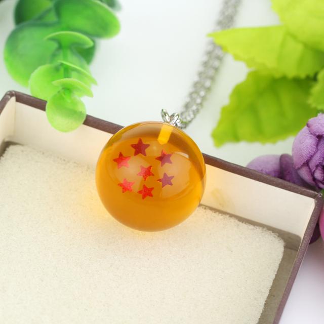 Dragon Ball Pendant Necklace