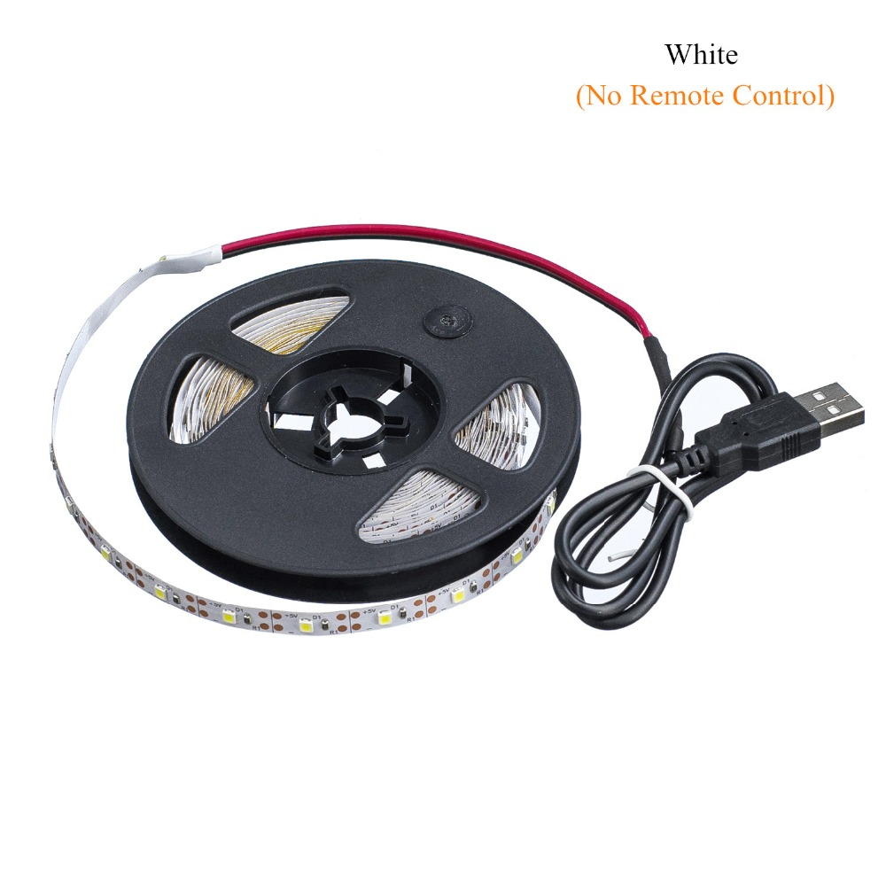 HTB1Eb62MPTpK1RjSZKPq6y3UpXaH WELPUR battery 5V USB LED Strip 2835 DC LED Light Flexible 50CM 1M 2M 3M 5M white warm For TV Background Lighting Night light