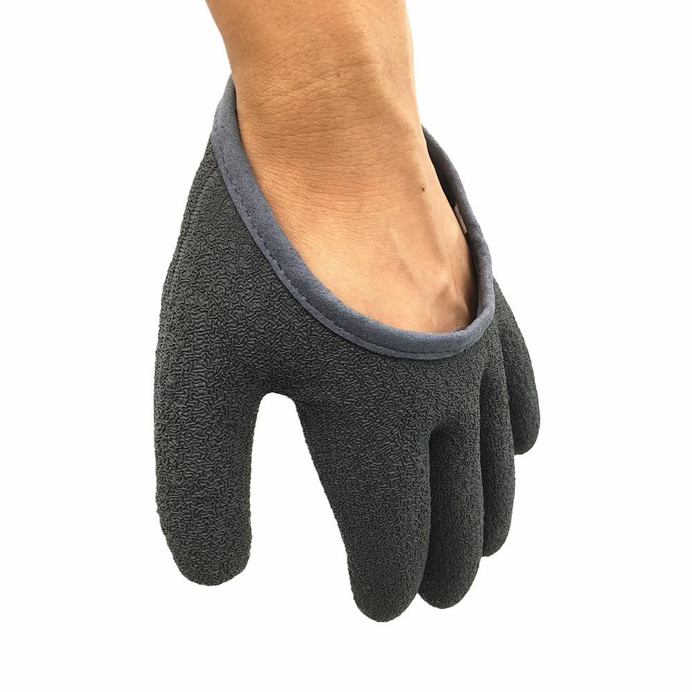 1pc Topind Fish catching gloves Anti slip fish proof waterproof PE ...