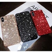 Bling Glitter Sequin plating Case For iPhone