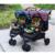 Gêmeos Carrinhos Carrinhos de Bebê 3 Em 1 Carrinhos Carrinho De Bebê Kinderwagen Dobrado GH263 Paisagem Carrinhos Carrinho De Criança de Luxo