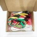 20 set MK Set Deluxe Kit con Cavo USB Dupond Linea Alligator Pinze per I Bambini
