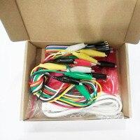 Conjunto 20 MK Conjunto Kit Deluxe com Cabo USB Dupond Linha Jacaré Clips para Crianças