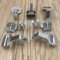 Fold Rolled Hem Presser Foot Feet Kit for Overlock Overcasting Sewing Machine